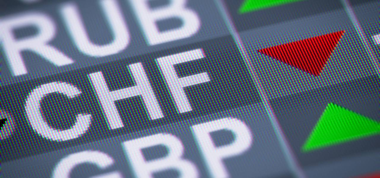 GBP/CHF - Exaustão do movimento de queda