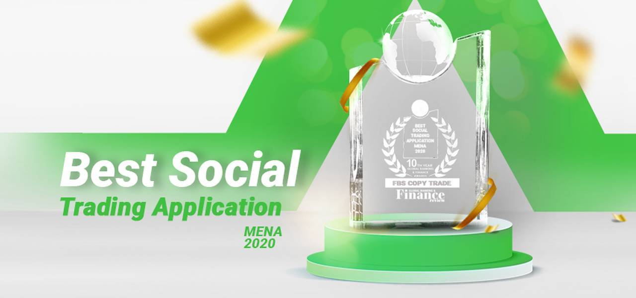 FBS CopyTrade recebe o prêmio Best Social Trading Application MENA 2020